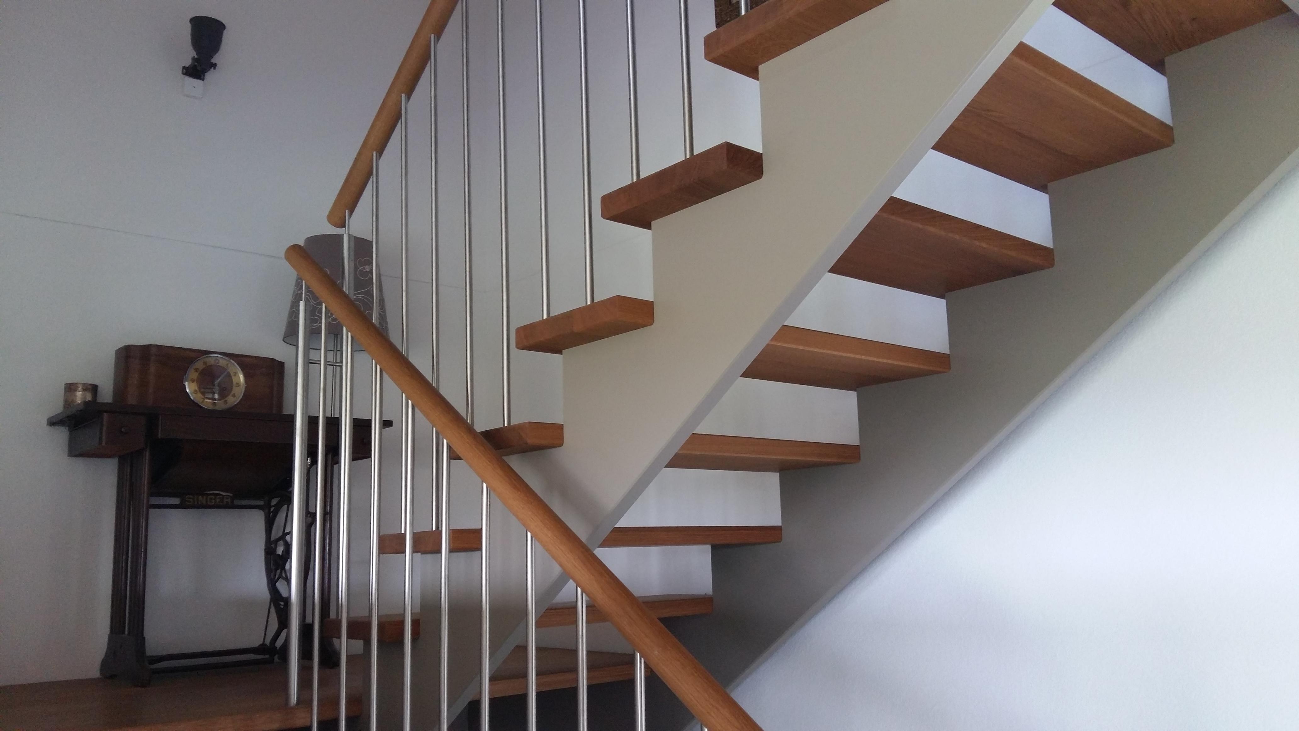 Escalier moderne - Construction bois– Construction bois